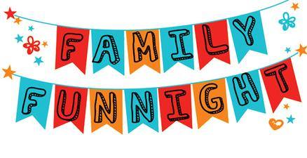 family fun night banner