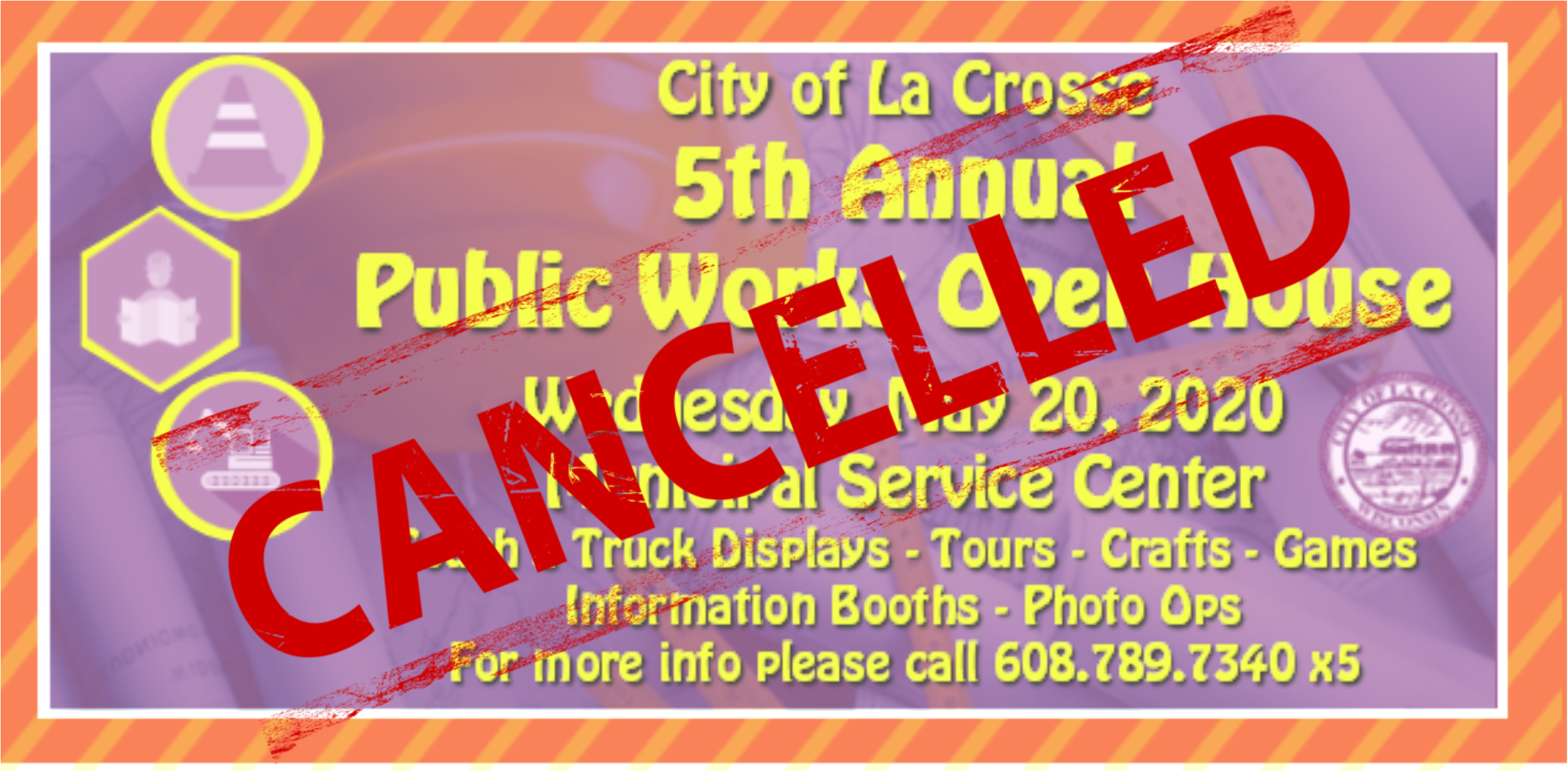 2020 Public Works Open House CANCELLED